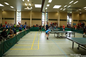 3. internationale Tischtennis Rankenbach-Open 2015 des TuS Hilter