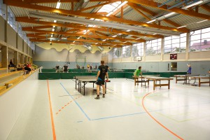 17. Ortsmeisterschaften 2014: Blick in die Halle