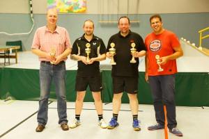 17. Ortsmeisterschaften 2014: Sieger im Einzel: Tobias Buller, Holger Straede, Stephan Hagedorn, Michael Kamsties